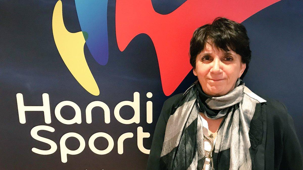 Guislaine Westelynck, élue présidente de la FF Handisport par intérim