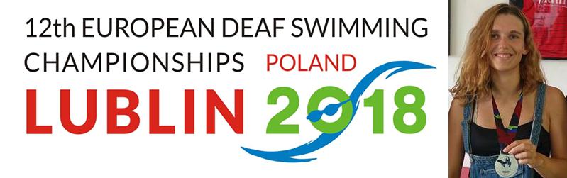 Championnats d'Europe I.C.S.D. (sourd) 2018