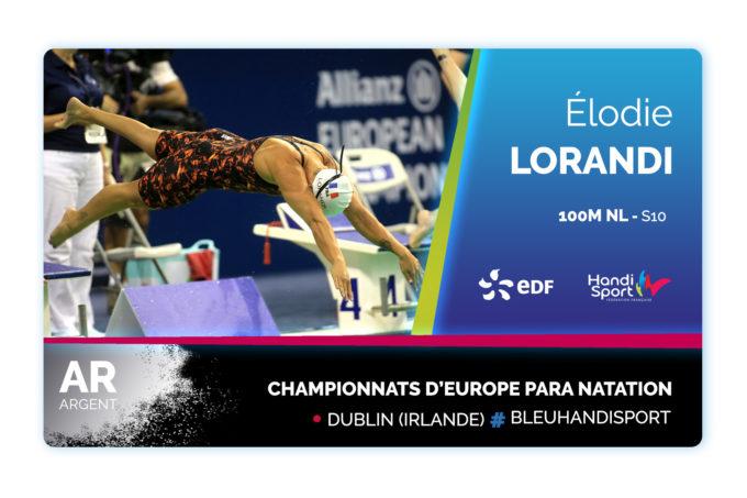 Une médaille d'argent pour conclure ces championnats d'Europe !