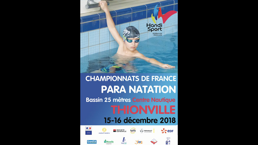 Championnat de France 25m. 2018 (Thionville) – Résultats / Classements