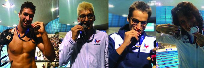 Championnats du monde Para Natation Londres 2019 :: jour 5 :: La France signe la passe de 4 médailles ce vendredi