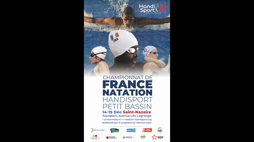 Championnats de France 25m. 2019 – Saint Nazaire – INSCRIPTIONS