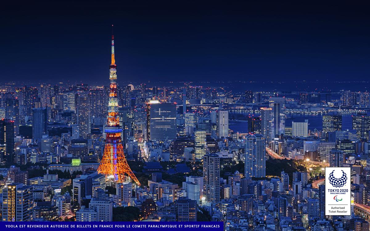 JEUX PARALYMPIQUES DE TOKYO 2020 – OUVERTURE BILLETERIE